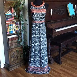 THML bohemian maxi dress